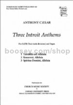 Three Introit Anthems (vocal score)