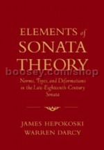 Elements Of Sonata Theory (hardback)