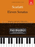 11 Sonatas for piano solo