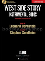 West Side Story Instrumental Solos: Clarinet (Book & CD)