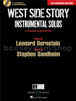 West Side Story Instrumental Solos: Alto Saxophone (Book & CD)
