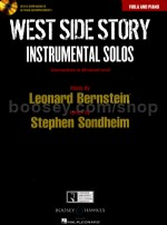 West Side Story Instrumental Solos: Viola (Book & CD)
