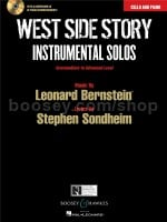 West Side Story Instrumental Solos: Cello (Book & CD)