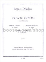30 Studies For Timpani (Volume 3)