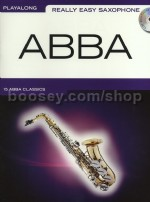 Really Easy Saxophone - Abba (Bk & CD)