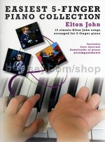 Easiest 5 Finger Piano Collection Elton John