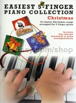 Easiest 5 Finger Collection Christmas piano