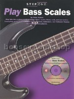 Step One Play Bass Scales (Book & CD)