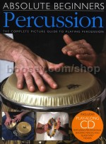 Absolute Beginners Percussion (Bk & CD)