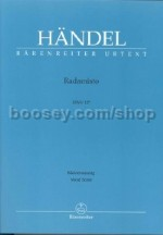Radamisto (Vocal Score)