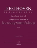 Symphony No.6 in F major 'Pastorale' Op 68 (critical report)