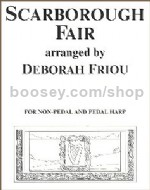 Scarborough Fair (Non-Pedal or Pedal Harp)