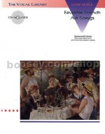 Favourite French Art Songs Vol. 1 (Low Voice) (Book & CD)