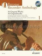 Baroque Recorder Anthology, Vol. 1 (+ CD)
