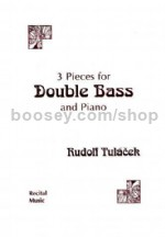 Three Pieces for Double Bass & Piano