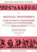 "Dances from ""Terpsichore"" - vol.1 (arr. SATB recorders)"