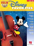 Violin Play Along 29: Disney Favorites (Bk & CD)