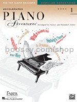 Accelerated Piano Adventures for the Older Beginner: Popular Repertoire (level 1)