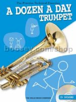 Dozen A Day - trumpet (Bk & CD)