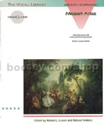 Arias for Mezzo-Soprano (Hal Leonard Vocal Library series) Book & CD