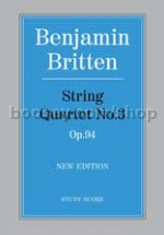 String Quartet No.3 Op.94 (Study Score)
