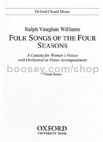 Folk-Songs Of The Four Seasons (vocal score)