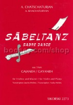 Sabre Dance (from the ballet Gayaneh) for Violin & Piano SIK2273