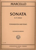 Sonata in A minor for bassoon & piano