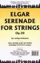 Serenade for Strings in E minor Op 20 (score & parts)