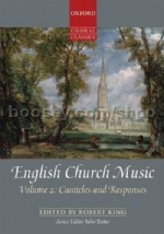 English Church Music Vol.2 - Canticles & Responses