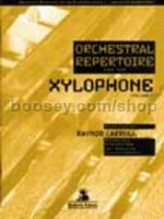 Orchestral Repertoire: Xylophone, Vol. 1