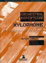 Orchestral Repertoire: Xylophone, Vol. 2