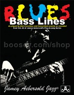 Vol. 42 Blues Bass Lines (Book & CD) (Jamey Aebersold Jazz Play-along)