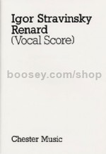 Renard (piano/vocal score)