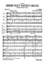 Sheep May Safely Graze (Schafe Konnen Sicher Weiden) (Score & Parts)