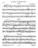 Playstrings Moderately Easy 9: Handel In Miniature (Parts)
