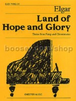 Land of Hope & Glory (arr. for piano) Chester Easy Solo series 54