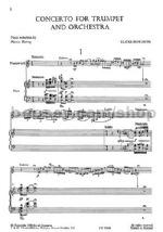 Concerto for Trumpet and Orchestra (Trumpet & Piano)