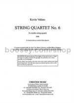 String Quartet No.6 (Score & CD)