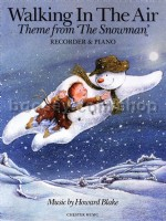 Walking In The Air (The Snowman) - Recorder & Piano