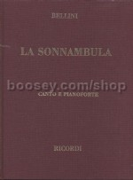 La Sonnambula - Vocal Score (Hardcover)