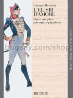 L'elisir D'amore - Vocal Score (Softcover)