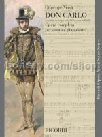 Don Carlo - Vocal Score (Softcover)