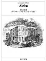 Alzira - Italian Vocal Score (Softcover)