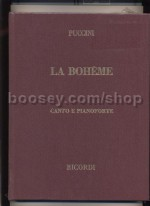 La Boheme - Vocal Score (Hardcover)