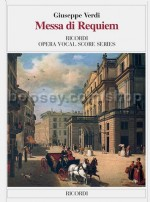 Messa Da Requiem - Vocal Score (Softcover)