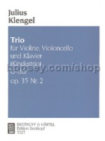 Piano Trio (Kindertrio) G Op. 35/2 Violin/cello/piano