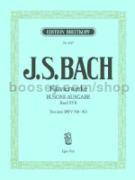 Complete Piano Works (Bach-Busoni Edition), Vol. XVII