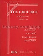 The Crucible for orchestra (piano reduction)