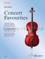 Concert Favourites for cello and piano